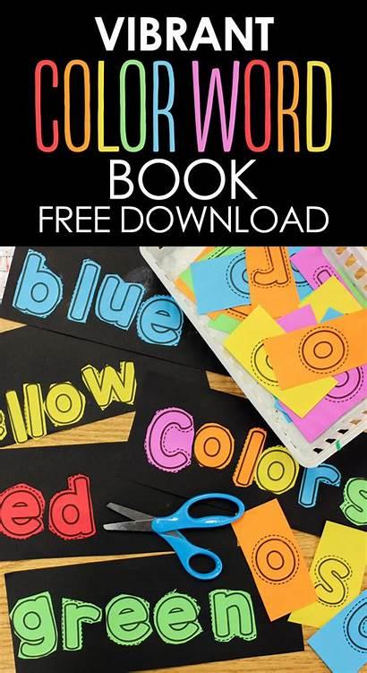 Vibrant Words Teach Easy Books Word Colors