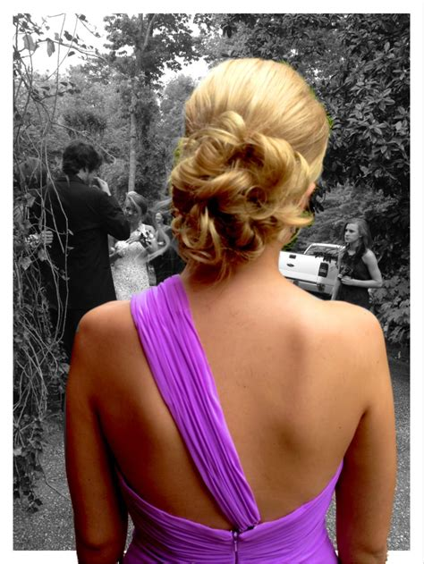 American Honey's Senior Prom Updo Hair styles Ball