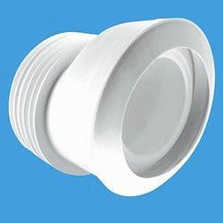 wc 4 quot 110mm offset toilet pan connector macfit mcalpine
