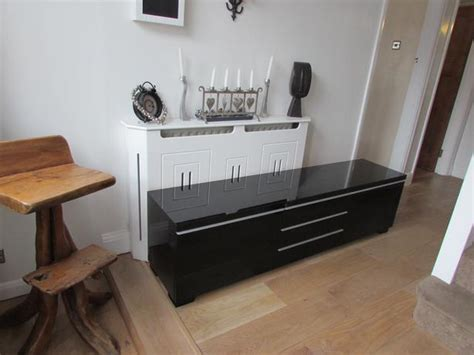 Ikea Besta Burs Tv Table Stand Bench And Wall Shelf Black