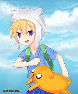 Anime Finn and Jake by SakuraAlice33 on DeviantArt