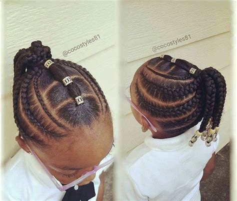 saw this in pinterest so cute black kids hairstyles