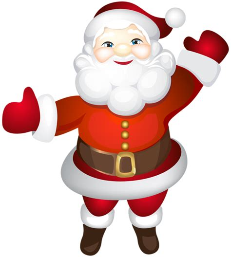 santa claus cute transparent png clip art gallery