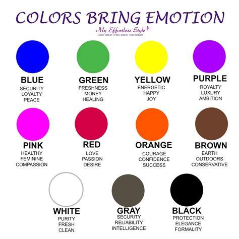 How Colors Affect Emotions  Best Hausdekoration