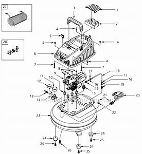 Campbell Hausfeld Fp208000 Parts List And Diagram