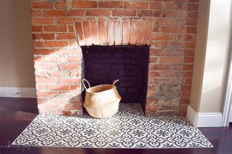 How To Use Fireplace - one room challenge week 4 how to install cement tile