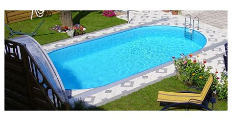 Pool Set by Steinbach Styria Pool Set Oval 800 X 400 X 150 Cm 1 Set