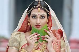 Makeup for Durga Pooja