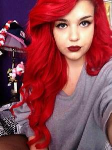 Best 25+ Bright red hair dye ideas on Pinterest | Bright ...