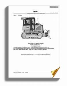 John Deree 450 550 650j Crawler Parts Catalog
