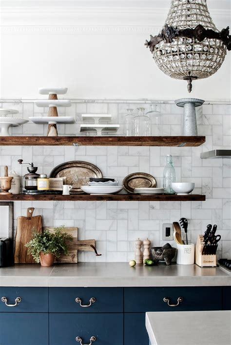 ways kitchen shelves  rock  world