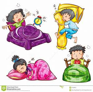 Image D Enfant : un groupe d 39 enfants la chambre coucher illustration de vecteur image 47538521 ~ Dallasstarsshop.com Idées de Décoration
