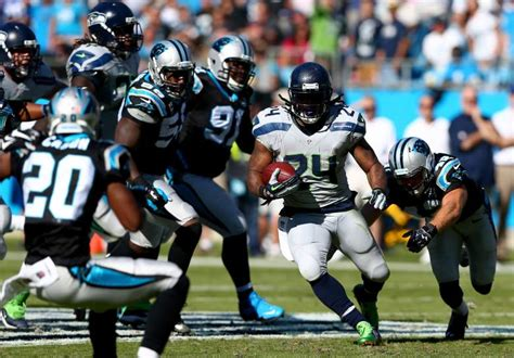 panthers  seahawks playoff history  matchups
