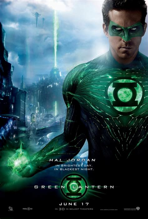 new green lantern poster brings the cgi moviesonline