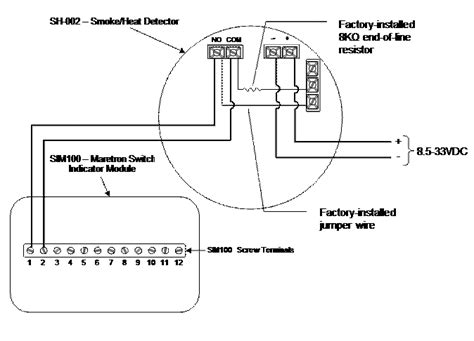Rate Of Rise Heat Detector Diagram by Smoke Detector Installation Guide