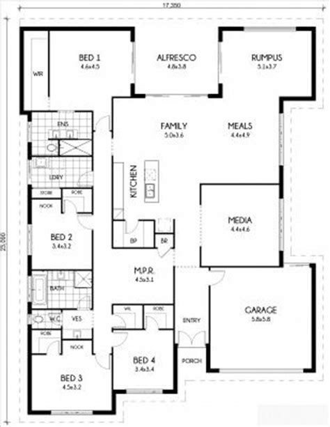 Butlers Pantry Floor Plans Large House Plans House Design