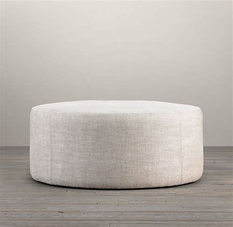 36 Quot Cooper Upholstered Round Ottoman Ottomans Benches