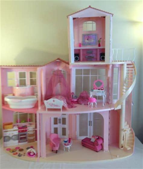 mattel barbie  story dream doll house  floor apartment stripped part mattel barbie