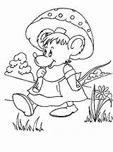 Mouse Coloring Pages Coloringpages1001 Animal sketch template