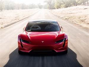 Tesla Roadster goes 0-60 mph in less than 2 seconds base ...