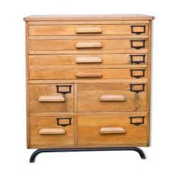 Meuble Multi Tiroirs : meuble de m tier tiroir en bois massif mes petites puces ~ Teatrodelosmanantiales.com Idées de Décoration