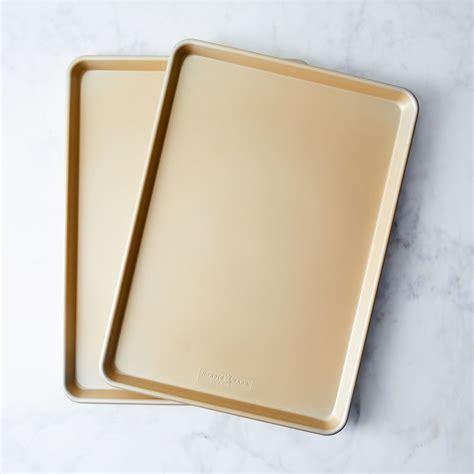 ware nordic baking sheet gold nonstick food52 sets sheets