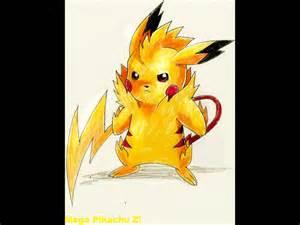 Pikachu Mega Evolution Pokemon