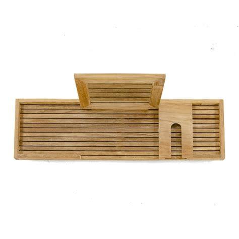 teak bathtub tray bathtub caddy westminster teak outdoor furniture
