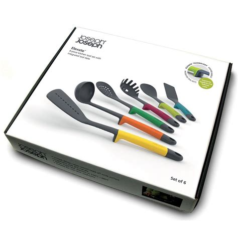 joseph joseph elevate 6 kitchen tool set from