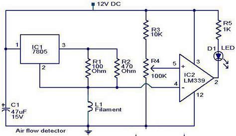 air flow detector circuit elepros