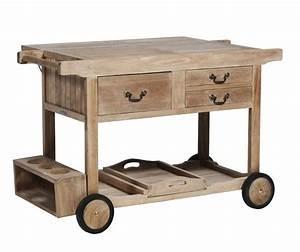 Table En Teck Jardin : table de jardin teck desserte roulante meubles de jardin ~ Melissatoandfro.com Idées de Décoration