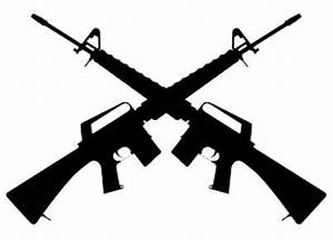 Infantry Crossed Rifles Clipart (25+)