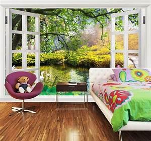 Papier Peint Trompe L4oeil : papier peint personnalis tapisserie murale sur mesure ~ Premium-room.com Idées de Décoration