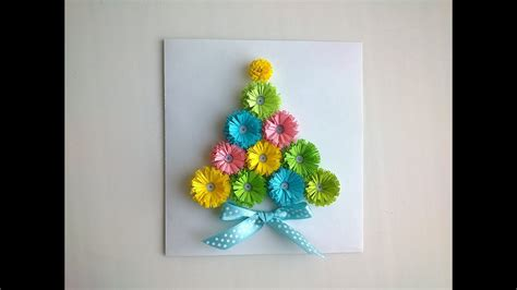 paper christmas cards  paper quilling christmas card
