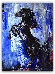 Kunst Bilder Zum Nachmalen : steigendes pferd pferdebild malerei gem lde unikat moderne kunst pferde abstrakt ~ Eleganceandgraceweddings.com Haus und Dekorationen