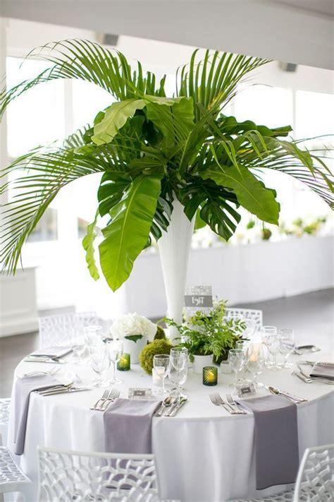 Palm Leaf Centerpiece Dreisbach Wholesale Florists