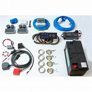 Race Van Complete Electrical Conversion Kit 12  U0026 220v With