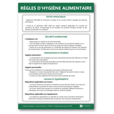 bac à graisse cuisine affiche des règles d 39 hygiène alimentaire