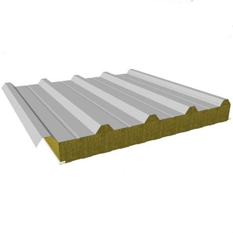 sandwich roof panels  mineral wool core composite roof panels