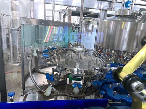 pp bottle filling  aluminum foil sealing machine  milk