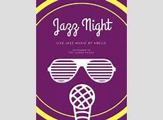 Customize 109+ Jazz Poster templates online Canva