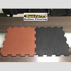 Interlocking Rubber Flooring  Interlocking Gym Rubber