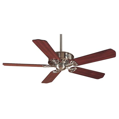 hunter 54 ceiling fan hunter paramount xp 54 in indoor brushed nickel ceiling