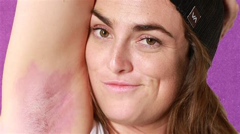 Women Dye Their Armpit Hair For The First Time Youtube