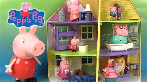 maison peppa pig jouet peppa pig la nouvelle maison familiale peppa s family home jouet