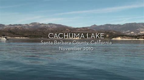 Boat Ride With Santa by Nature Cruise Boat Ride Cachuma Lake Santa Barbara