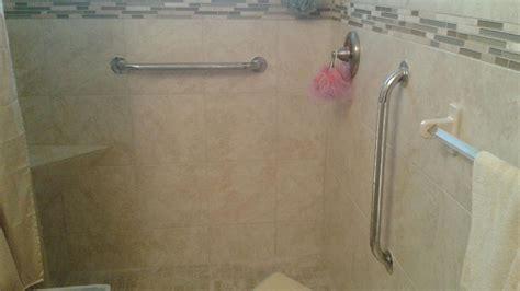 shower grab bars grab bar moen folddown teak shower seat