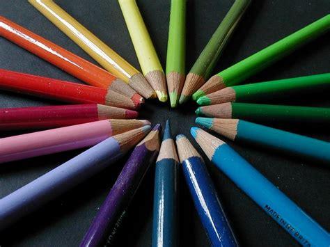 pencils  stock photo colored pencils forming