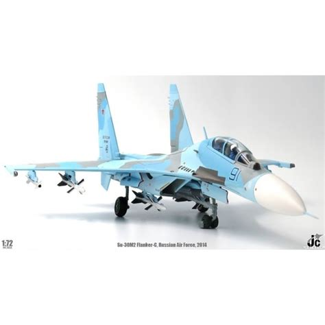 Jc Wings 72 Su-30m2 Flanker-c Russian Air Force 2014