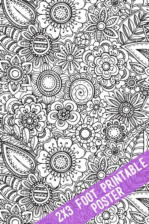 printable coloring tablecloths  posters  crafting chicks